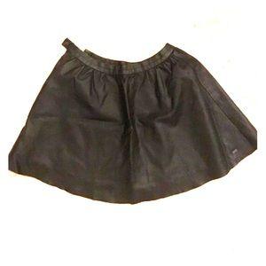 Pleather skirt, Zara